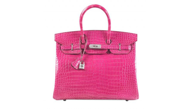 hermes kelly pink croco