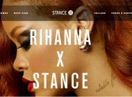 Rihanna Stance collaborazione per calze Punks & Poets