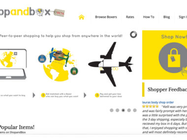shop and box ecommerce
