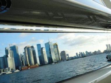 Sunseeker Shanghai skyline