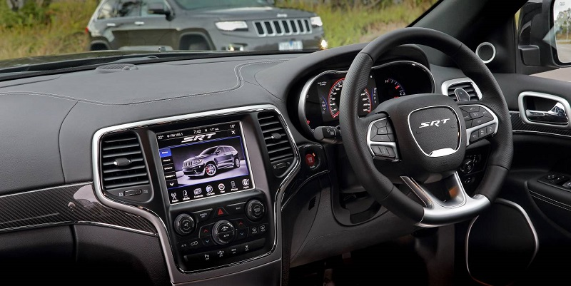FCA Jeep infotainment system
