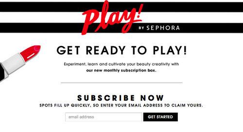 Sephora Beauty Box Play!