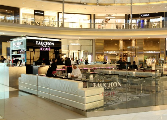 Fauchon Paris-cafe, Dubai mall, Dubai, UAE