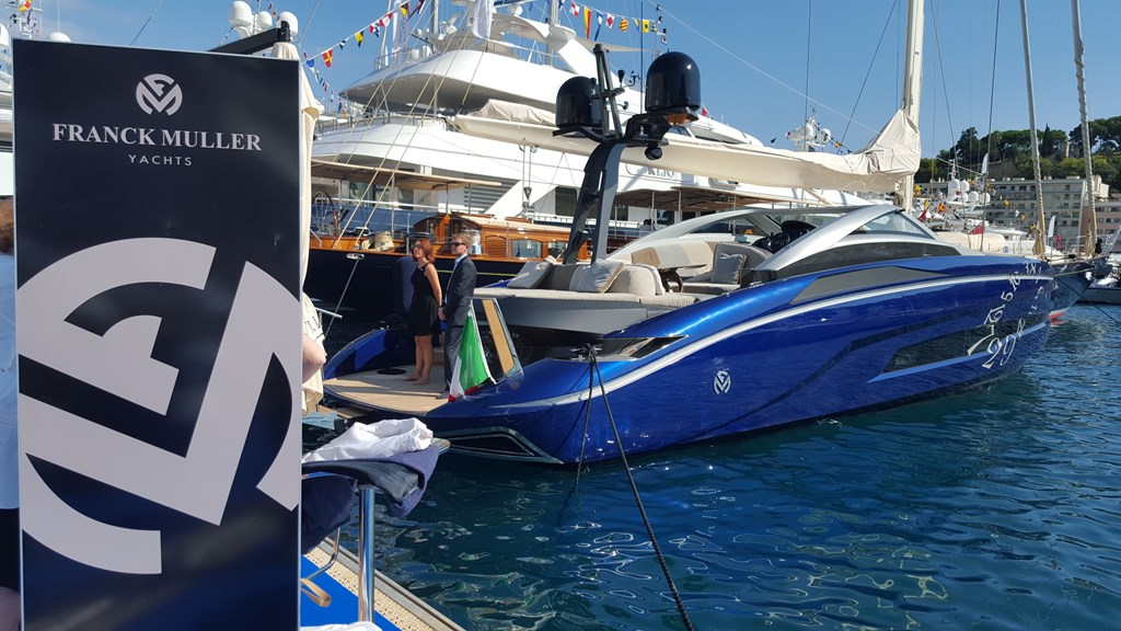 Franck Muller Yachts Monaco Boat Show