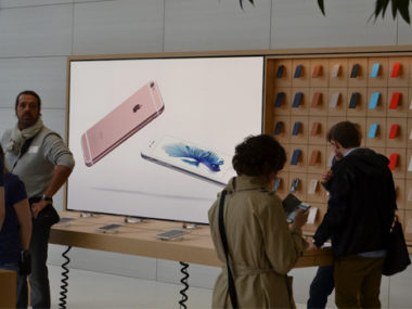 apple store Bruxelles Nuovo iphone 6s display