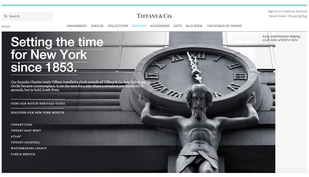 tiffany watch new york