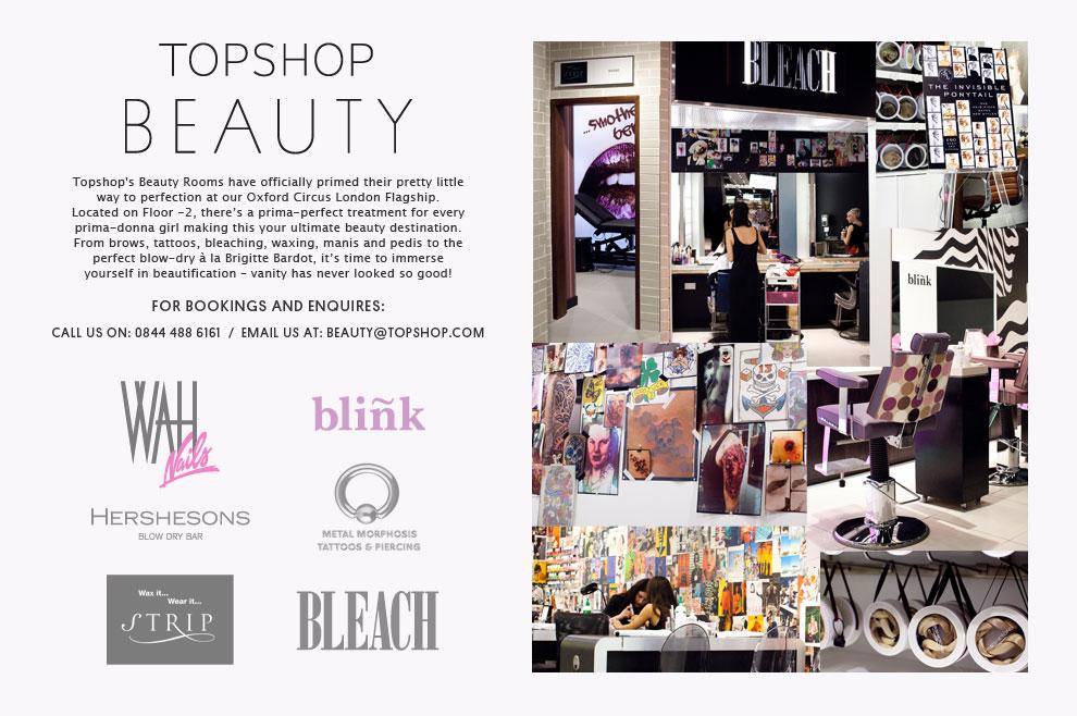 Topshop Beauty retail