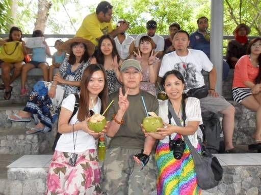 Turisti cinesi Tailandia