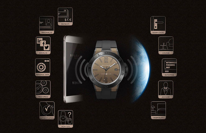Bulgari Diagono Magnesium app security