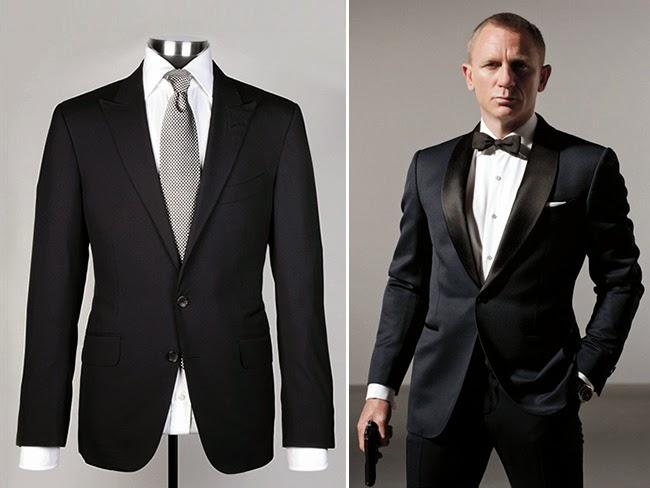 Daniel Craig in Tom Ford per Spectre 007