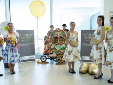 Golden Week Cina accoglienza turisti cinesi Amsterdam aeroporto