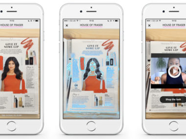 house of fraser augmented reality
