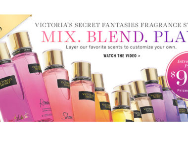 victoria's secret fantasies fragrances