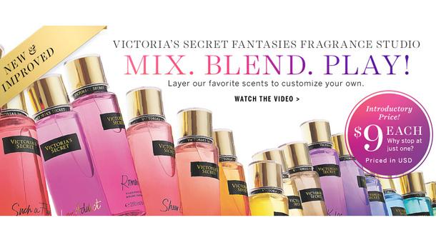victoria's secret fantasies fragrances