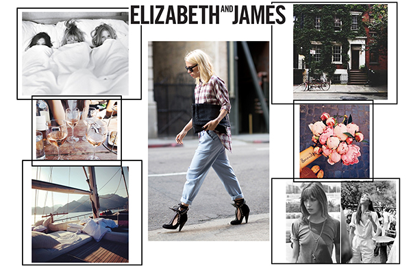 Elizabeth and James SS16 moodboard