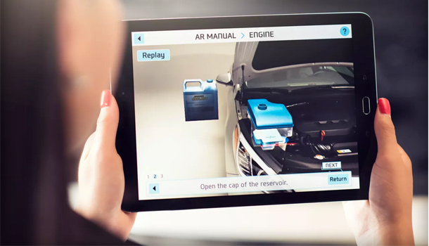 Hyundai manuale istruzioni realta aumentata