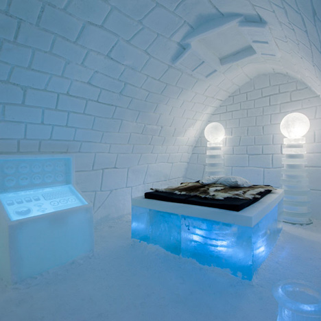 IceHotel Svezia interni