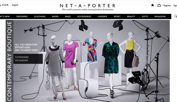contemporary Boutique Net-a-Porter