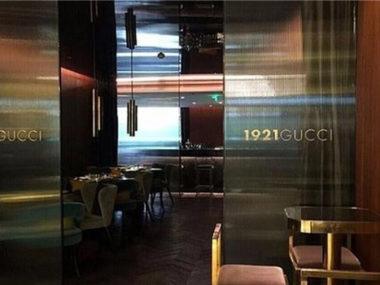 ristorante Gucci 1921 shanghai