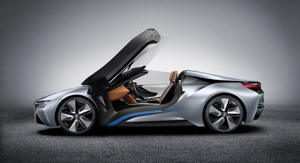 Bmw i8 spyder laterale