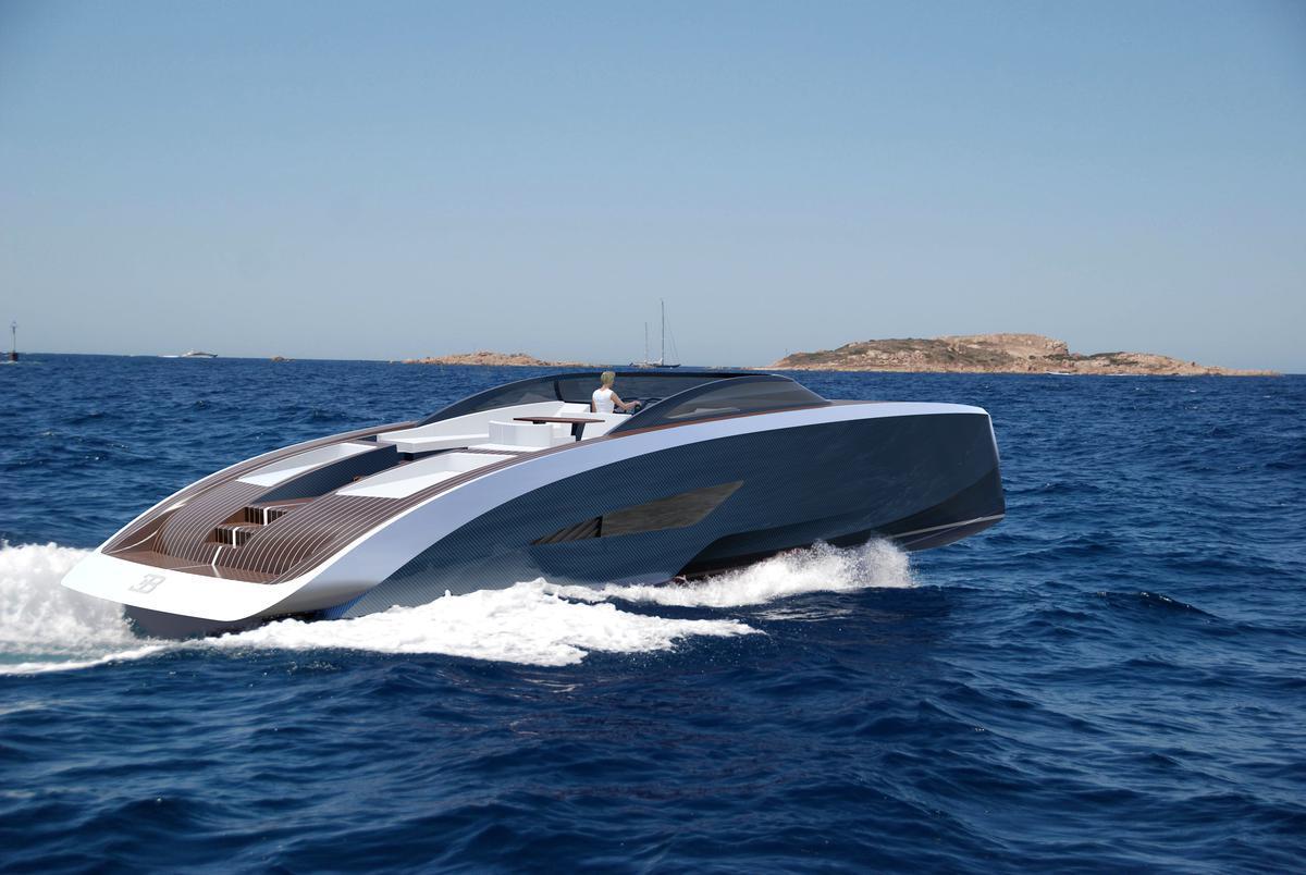 Bugatti Niniette Yacht by Palmer Johnson