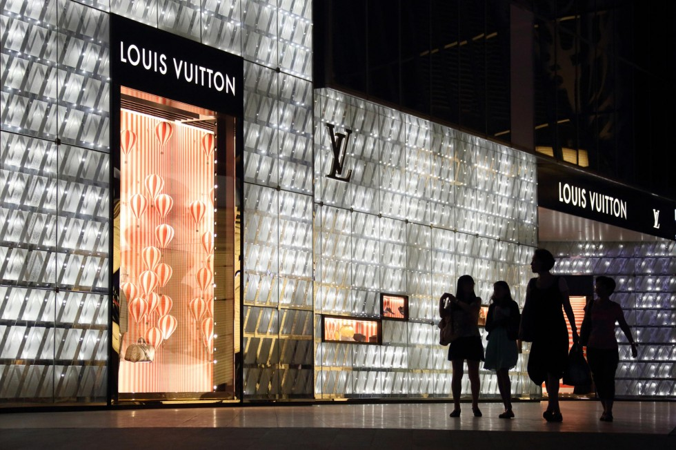 Louis Vuitton Cina store