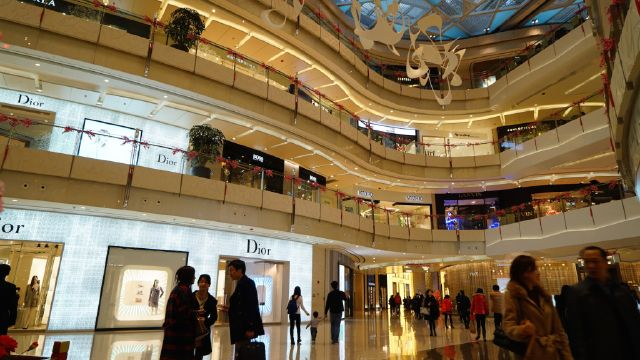 Luxury Shopping Mall Cina