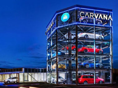 carvana dealer store vending machine