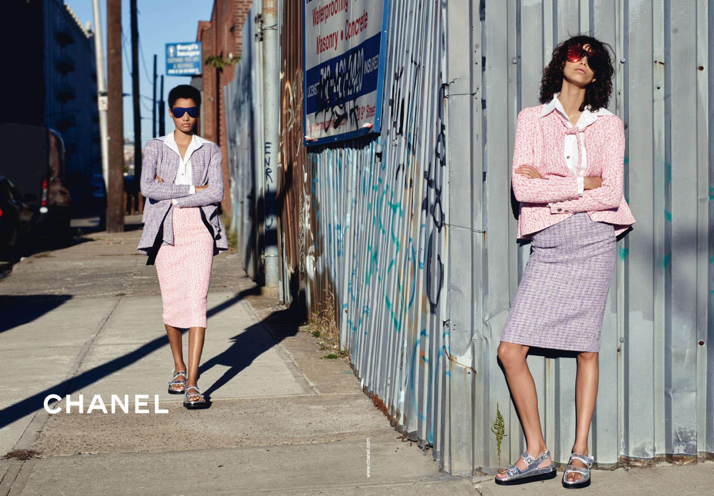Chanel SS16 campagna pubblicitaria