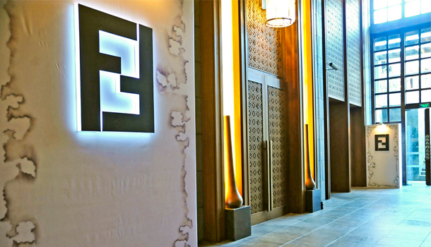 FEndi hotel Roma Palazzo Fendi