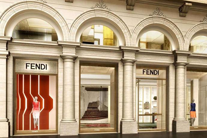 Palazzo Fendi Roma Boutique