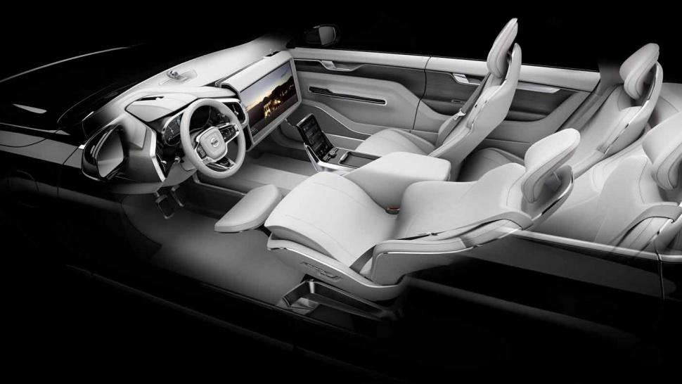 Volvo Concept26 interni