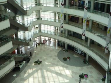 shopping mall vuoti Cina