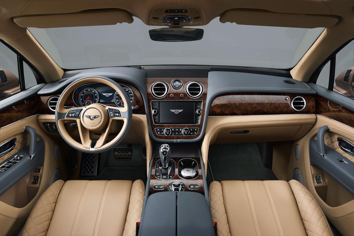Bentley Bentayga suv lusso