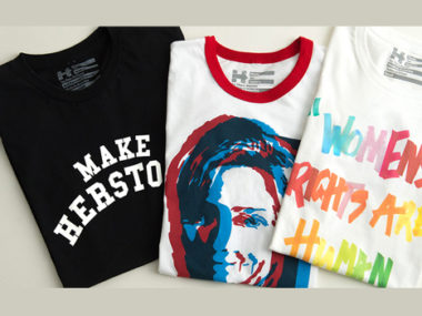 Hillary Clinton t-shirt Marc Jacobs Tory Burch