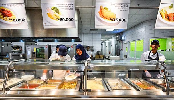 Ikea Jakarta food court