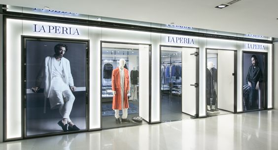 La Perla Uomo flagship store Shanghai