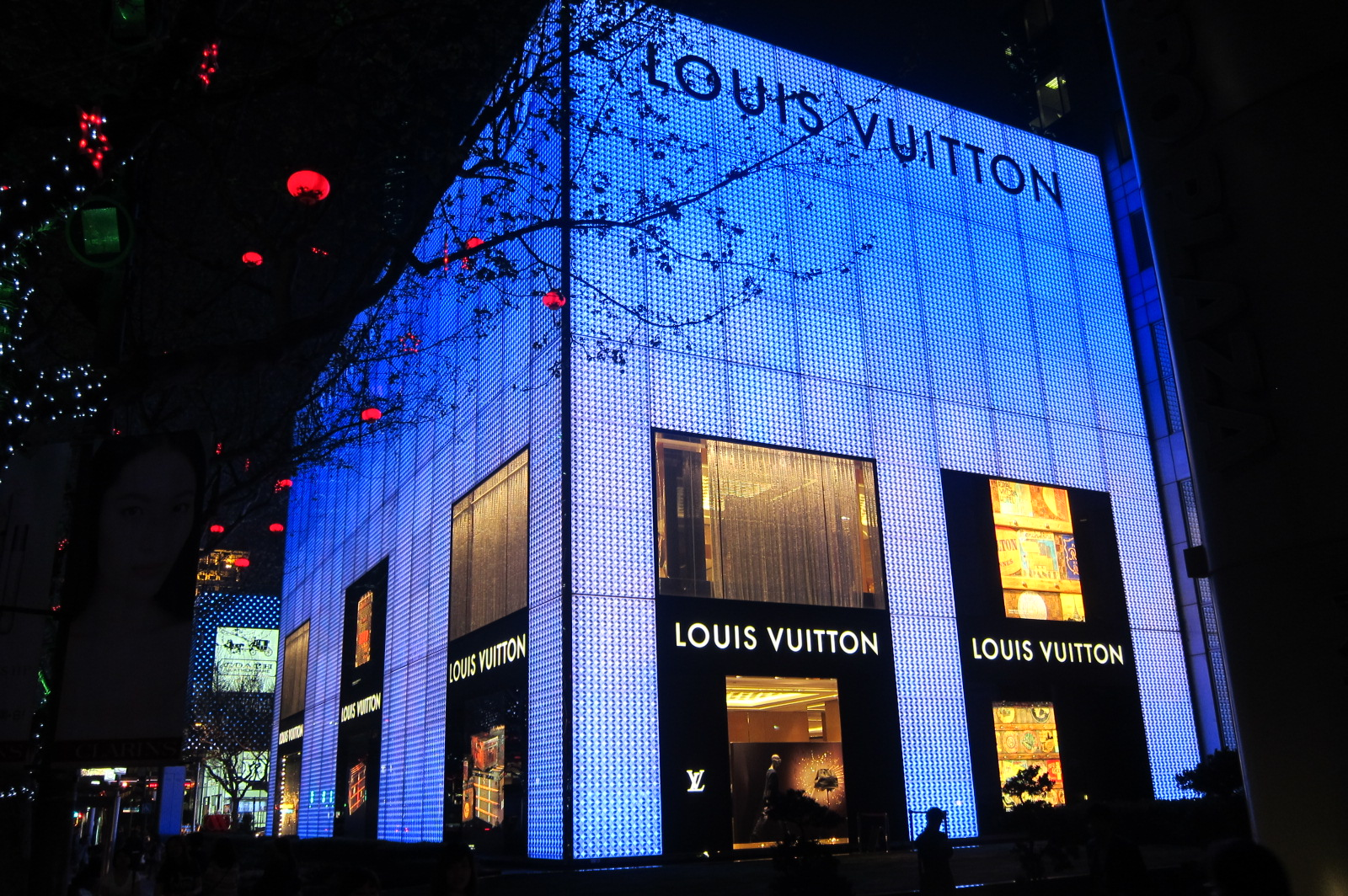 Louis Vuitton Huahuai Road Shanghai diventera flagship Victoria's Secret
