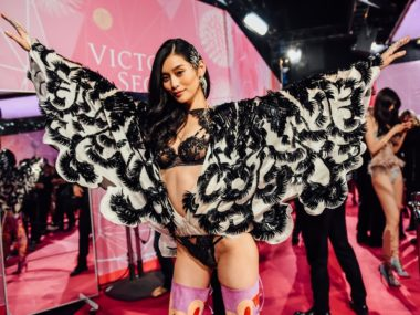 Ming Xi Victoria's Secret fashion show