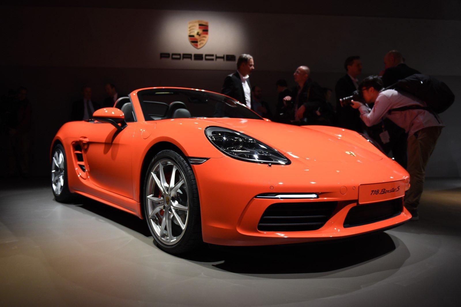 Porsche 718 Boxster Geneva Motor Show