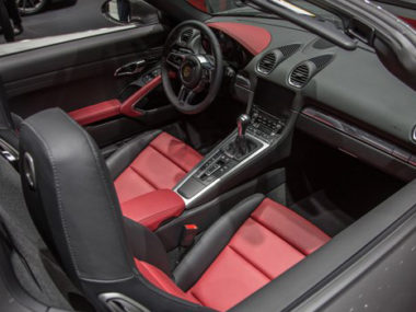 Porsche Boxster 718 2016