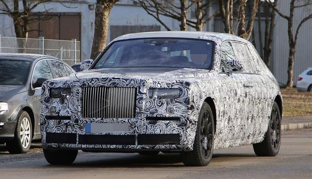 Rolls Royce Phantom VIII generazione