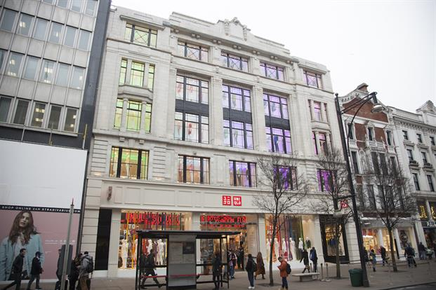 Uniqlo Store London front