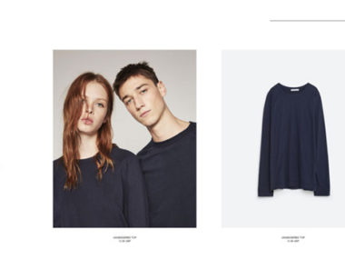 Zara online collezione genderless