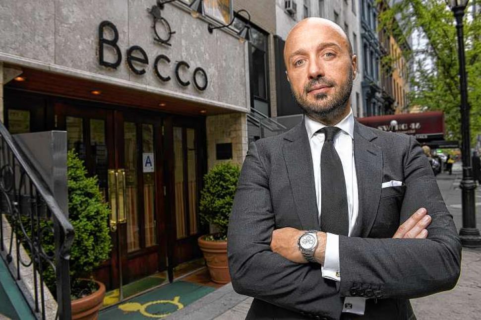 Joe Bastianich Masterchef Becco New York