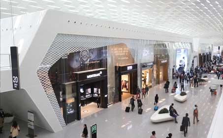 Shenzen airport duty free