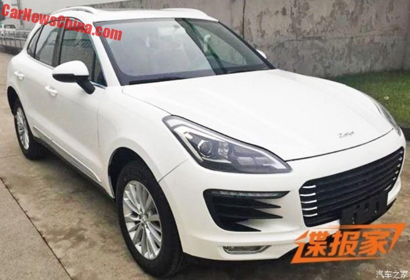 Zotye sr8 presentato Beijing Auto Show