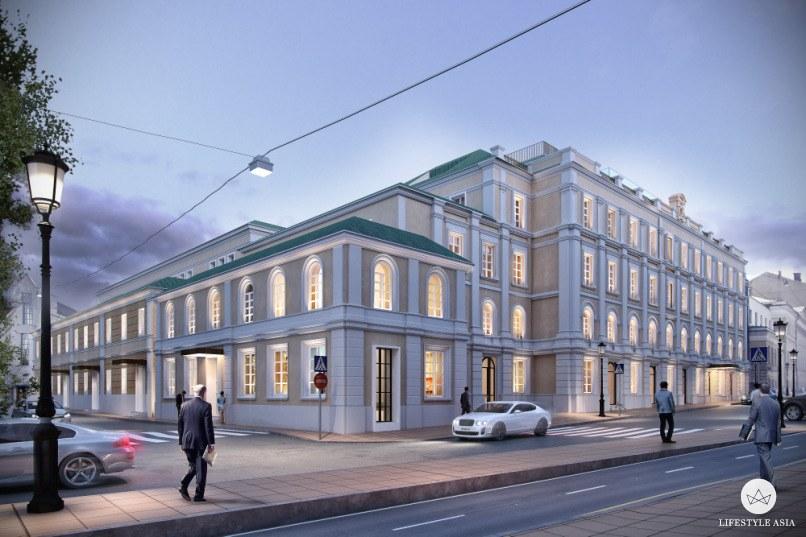 Bulgari Hotel Mosca rendering