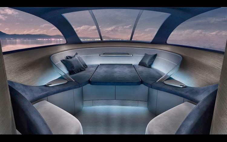 Mercedes-Benz Arrow460 Granturismo Yacht interni
