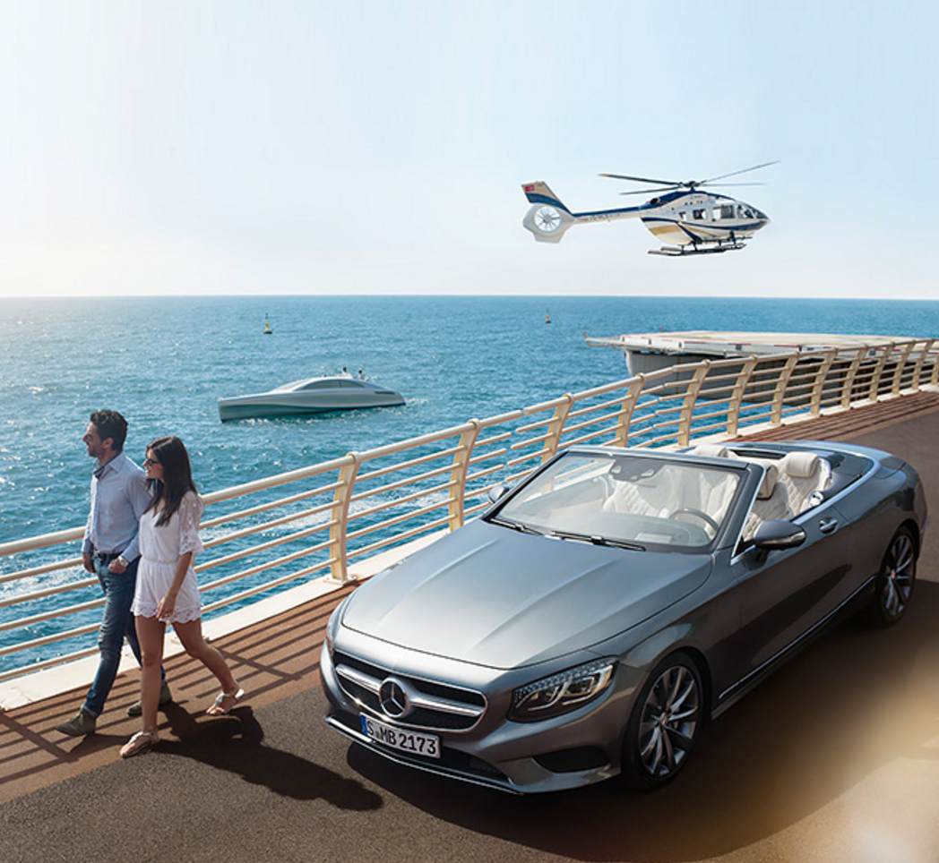 Mercedes-Benz yacht Arrow460